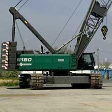 Кран Sennebogen 200 тонн
